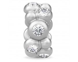 Charm argent Endless Infinite Stones - 41354