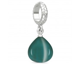 Charm argent Endless JLO Teal Snake Eye - 1302-3