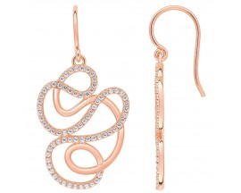 Boucles d'oreilles plaqué or rose Element of Life - TSWL88Z