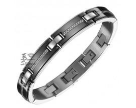 Bracelet céramique & acier Phebus - 35/0720-N