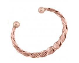 Bracelet rigide plaqué or rose Nina Ricci - 70121570100
