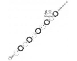 Bracelet céramique & acier Ceranity - 903-056.N