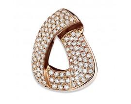Pendentif empierré or & diamant(s) Pfertzel - 5186964