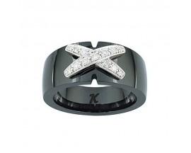 Bague or Céramique K Diamant - FH005GCNB