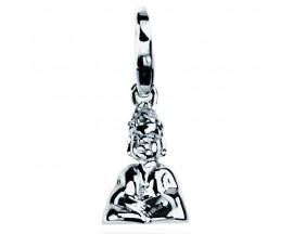 Charm argent Bouddha Pierre Lannier - JC99A028