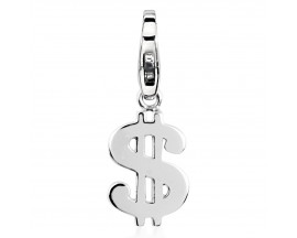 Charm argent Dollar Pierre Lannier - JC99A187