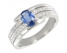 Bague or saphir & diamant(s) Pfertzel - 3448245