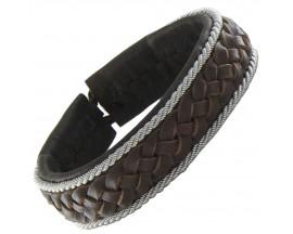 Bracelet cuir Hanna Wallmark - B25 C13