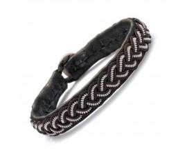 Bracelet cuir Hanna Wallmark - B36 C01