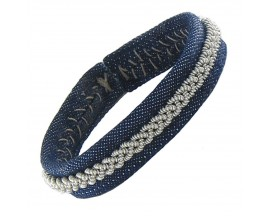 Bracelet cuir Hanna Wallmark - B63 C40