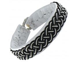 Bracelet cuir Hanna Wallmark - B38 C25