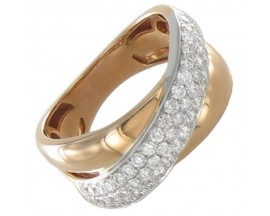 Bague or & diamant(s) Pfertzel - 3228809