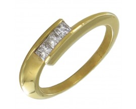 Bague or & diamant(s) Pfertzel - 3514100