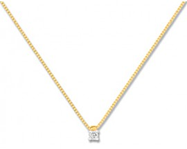 Collier or & diamant(s) Christian Bernard - QB510BB4