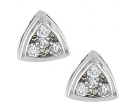 Boucles d'oreilles boutons or & diamant(s) - Robbez Masson - 2.2014.31