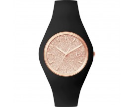 Montre ICE glitter Black Rose-Gold Medium (43mm) Ice-Watch - 001353