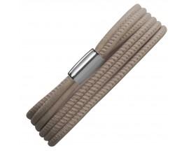 Bracelet cuir de veau véritable Sand 3-Brins Endless - 12221-2