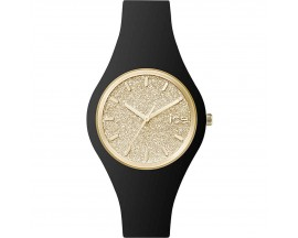 Montre ICE glitter Black Gold Small (38mm) Ice-Watch - 001348