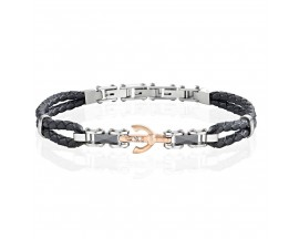 Bracelet cuir & céramique Morellato - SAEV31
