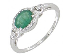 Bague or émeraude(s) & diamant(s) Stepec - BS 1647 EF/DTS