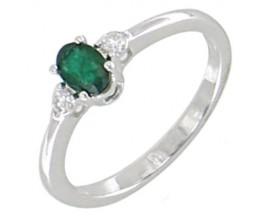 Bague or émeraude(s) & diamant(s) Stepec - BS 1494 EF/BTS