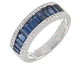 Bague or saohir(s) & diamant(s) Stepec - BS 1712 SF/DTS