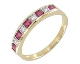 Bague or rubis & diamant(s) Stepec - BS 1717 RF/DTS