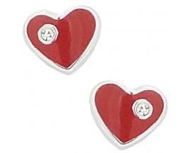 Boucles d'oreilles boutons argent Stpec - C1813