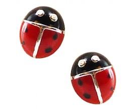 Boucles d'oreilles boutons argent Stepec - C1049