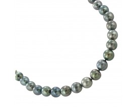 Collier perles de Tahiti or Stepec - JA16/44