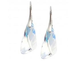 Boucles d'oreilles pendants argetn Indicolite - DO-WING-001AB