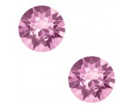 Boucles d'oreilles boutons argent Indicolite - PURON6212