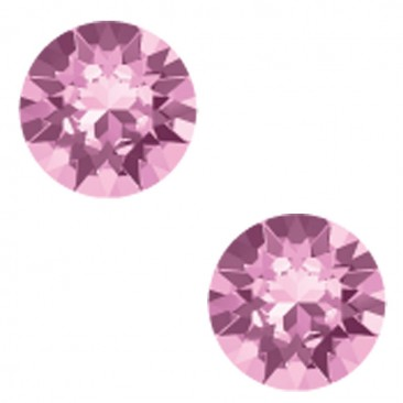 Boucles d'oreilles boutons argent Indicolite - PU-RON6-212