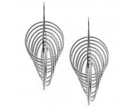 Boucles d'oreilles pendants argent Orus - CA340