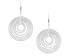 Boucles d'oreilles pendants argent Orus - CA230