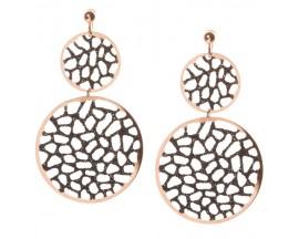 Boucles d'oreilles pendants argetn Orus - GO5357BLACK