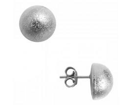 Boucles d'oreilles boutons argent Orus - GO2457