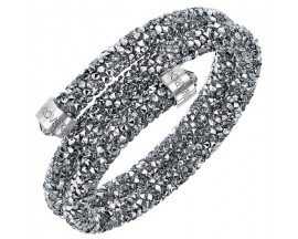 Bracelet-jonc Swarovski - Crystaldust Bangle Double CRYLTCH/STS