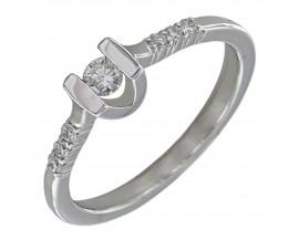 Bague solitaire or diamant(s) Clozeau - E102DG13