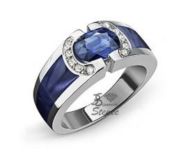 Bague or saphir et diamant(s) Clozeau Etnaa - F423DSBPG