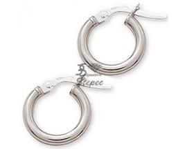Boucles d'oreilles créoles or Robbez Masson - 2535.1G