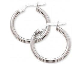 Boucles d'oreilles créoles or Robbez Masson - 2535.3G