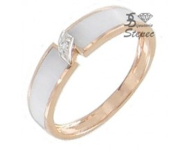Bague or diamant(s) Clozeau - F557DBR