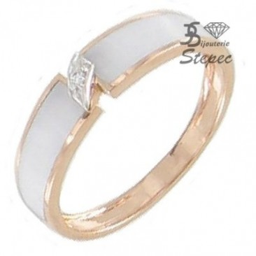 Bague or diamant(s) Clozeau - F557DBR