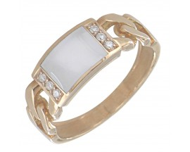 Bague or diamant(s) Clozeau - F593DBR