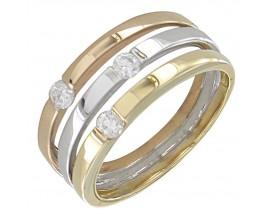 Bague or diamant(s) Clozeau - H284DT