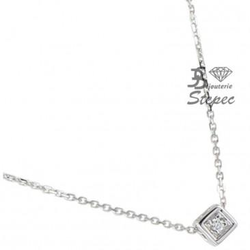 Collier empierré or diamant(s) Clozeau - N135DG