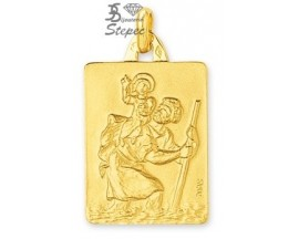 Médaille Saint Christophe or Robbez Masson - 26019