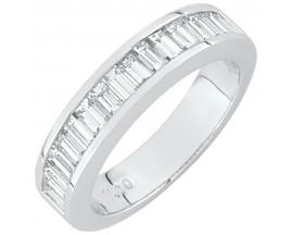 Demi alliance diamants or Girard - 35031GO