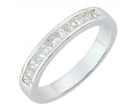 Demi alliance diamants or Girard - 35033GO